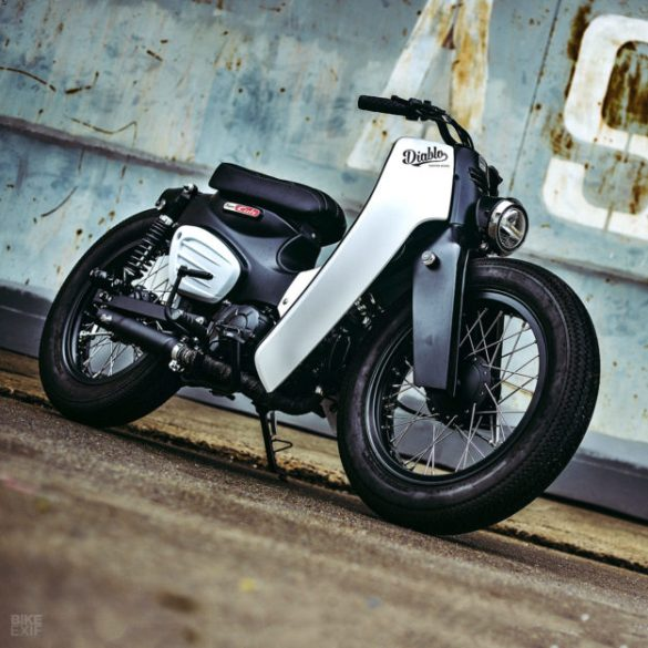 Honda Launches The 2018 Super Cub With A K Speed Custom Two Bit