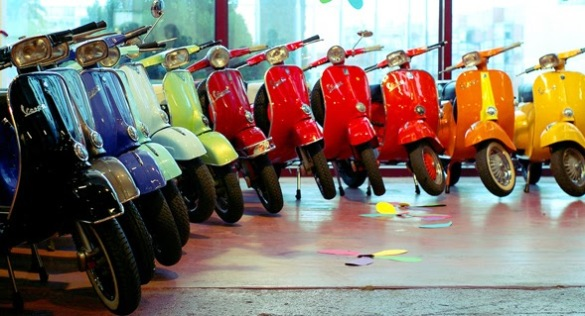 Image result for pride vespa